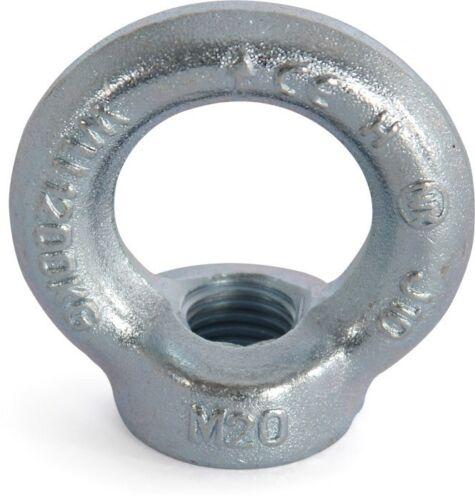 verz. Riggatec Ringmutter DIN 582 M20 galv