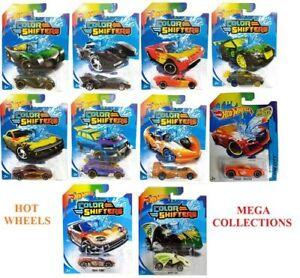 Mega-Coleccion-Hot-Wheels-cambios-de-color-opcion-de-10-vehiculos-Raro-Nuevo