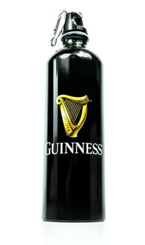 Guinness Bier Getränkeflasche an Karabinerhaken 0,5l Aluminium Thermoflasche