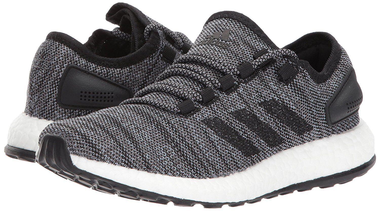 Adidas performance Uomo pureboost tutto terreno nero / corsa grigio s80787 scarpe da corsa / cacca1