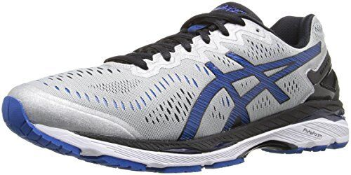 30e604d62ea ASICS Gel-kayano 23 Mens Gray Mesh Athletic Lace up Running Shoes 9