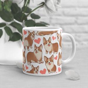 Corgi-Coffee-Mug-Pet-Dog-Lover-Cute-Pembroke-Welsh-Gift-For-Her-Him-Cup