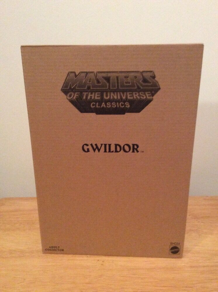 Motuc Gwildor Figure Masters Of The Universe Classics Mattel New Sealed He-Man
