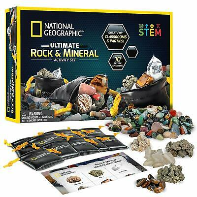 Geology Science Toy Kit National Geographic Rock Party Set ...