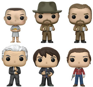 Funko-POP-Television-STRANGER-THINGS-WAVE-2-VINYL-FIGURE-SET-w-Chase-Hopper