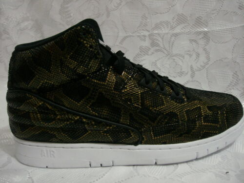 705066 Force Metallic Negro Retro Air 11 Nike 002 Train High Top Python Gold qw76xWz1H