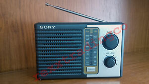 NEW-SONY-ICF-F10-Two-2-Band-AM-FM-Battery-Radio