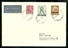 DEUTSCHE DIENSTPOST LORRAINE 1940, Hindenburg stamp ovpt. Cover Aug. 15,1940