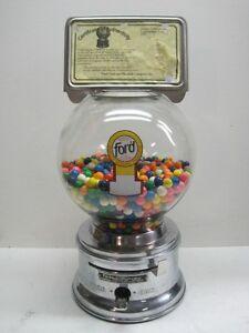 ford gumball machine glass globe