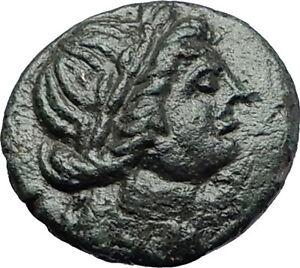 LARISSA-Thessaly-THESSALIAN-LEAGUE-2-1BC-Apollo-Athena-Ancient-Greek-Coin-i58074