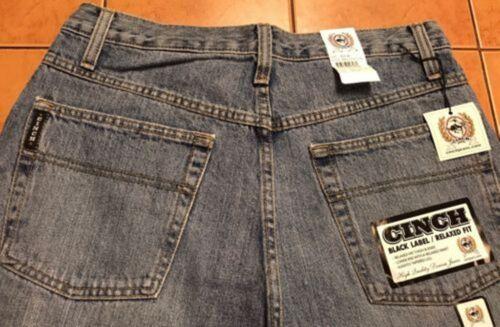 Cinch Prezzi Black Indigo Jeans scontati Uomo Relaxed Cintura Label mb90633001 Aq8PI4