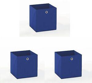 3er-Set-FALTBOX-AUFBEWAHRUNGSBOX-BOX-SPIELKISTE-blau-Woody-70-00579