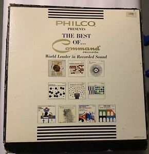 Details about Philco Presents - The Best of Command Audiophile Records -  Awesome!!!