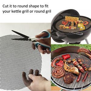 2-Stueck-Grillmatte-rund-30cm-40cm-fuer-Grillroste-Grill-Zubehoer-Backmatte