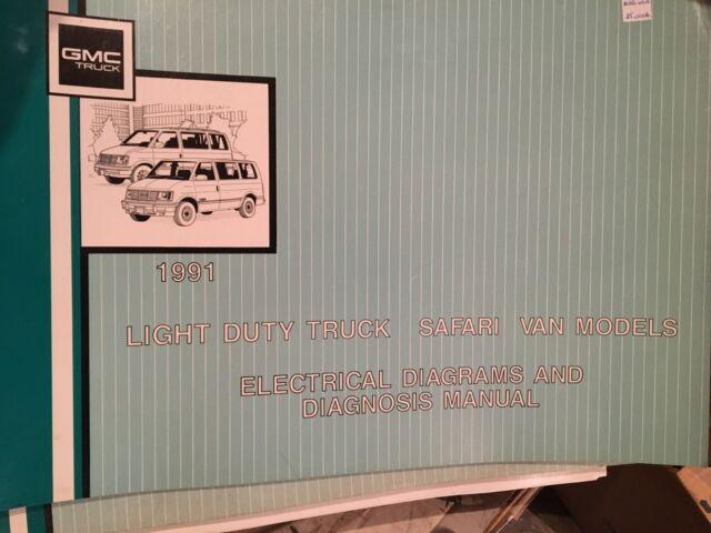 1991 Chev Light Duty Truck Safari Van Electrical Diagnosis