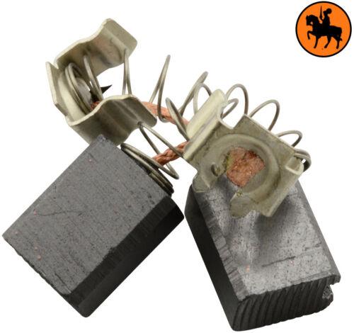6.0x9.0x11.3mm NUOVO Spazzole di Carbone BLACK /& DECKER KD990 trapano