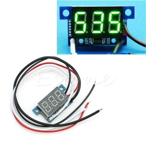 Nouveau Mini DEL 0-999 mA DC 4-30 V Digital Panneau Ampèremètre Amp Ampere Meter avec fil