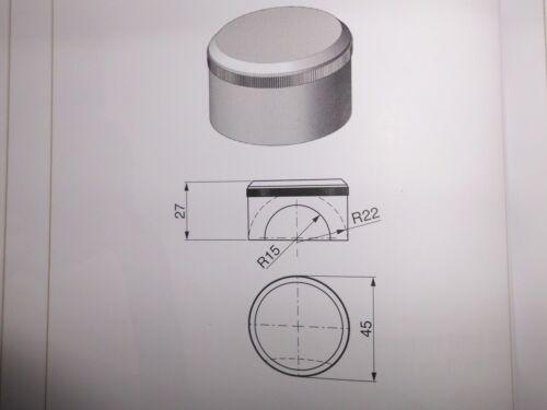 Kunststoffeinlage für Kugelpfanne TYP 1 und 2