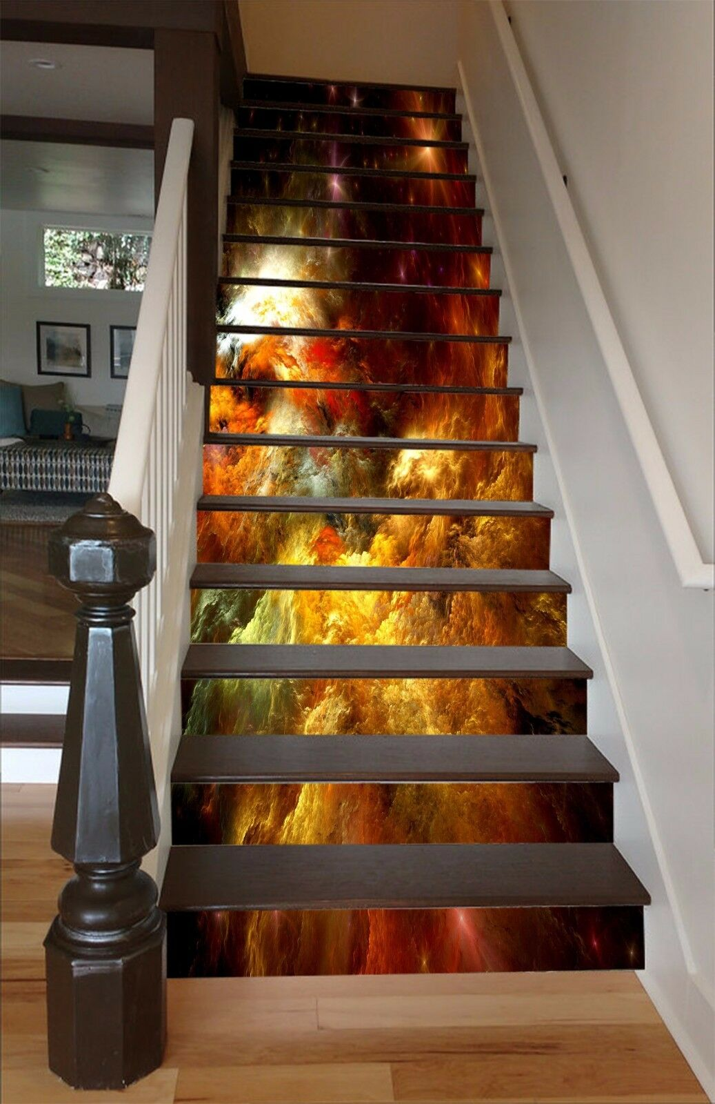 3D Star Painting 85 Stair Risers Decoration Photo Mural Vinyl Decal Wallpaper AU