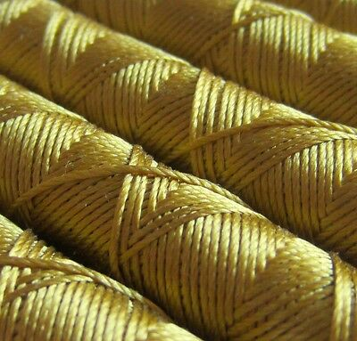 SILKA natural silk embroidery thread, wind of 10m, YELLOW 1090
