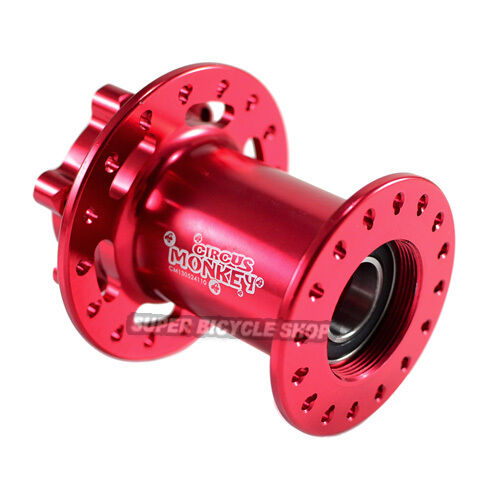 Circus Monkey Disc CNC Lefty  Front Hub For Cannondale,28 Hole,Red