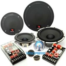 """FOCAL P165 V33 6.5"""" 3WAY PERFORMANCE COMPONENT SPEAKERS MIDS TWEETERS CROSSOVERS"""