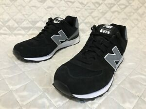 Details about New Balance Men's Classic 574 Reflective Black Grey Shoes ML574CNA Sz 12