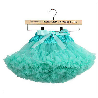 New Girls Kids Dress Tutu Skirt Princess Party Petticoat Ballet Dance Pettiskirt