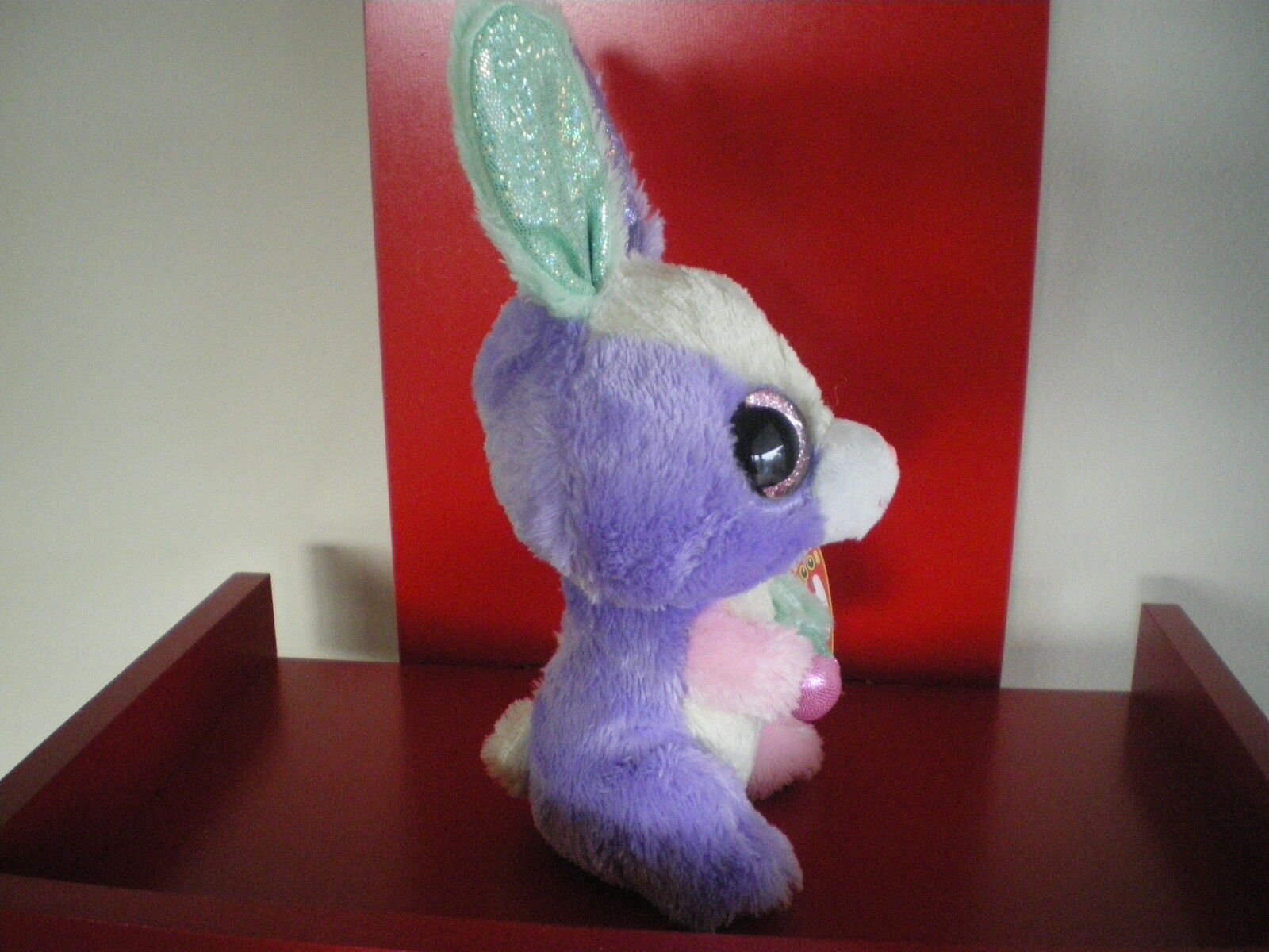 3b0df6abfb0 Ty Beanie Boo Plush - Bloom The Bunny 15cm Easter Special for sale online