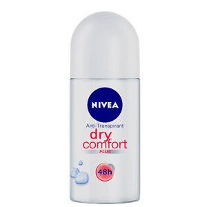 76-33-L-3x-50ml-Nivea-Dry-Comfort-Deo-Roll-On-48h-Anti-Transpirant