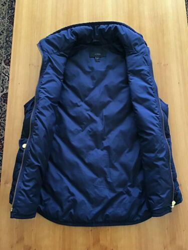 Xs Quilted taglia Vest J Crew Womens excursion Down Filled 4nW0RqB