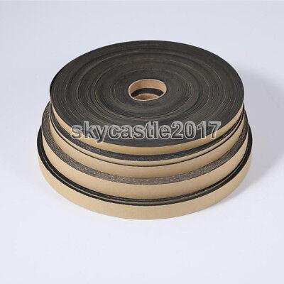 1pc 1m Speaker EVA Sealing Strip Sponge Insulation Gasket Foam Tape 5-18mm Width