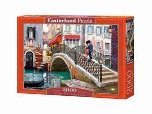 "Castorland Puzzle 2000 Pieces Venice Bridge 92x68 cm 36""x27"" Sealed box C-200559"