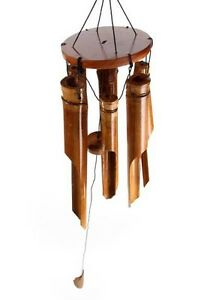 bambus windspiel 100 cm feng shui deko klangspiel 6 r hren. Black Bedroom Furniture Sets. Home Design Ideas