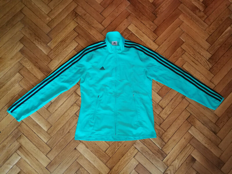 Liberal Adidas Track Jacket Womens Zip Top Ladies Green Coat Bright In Colour