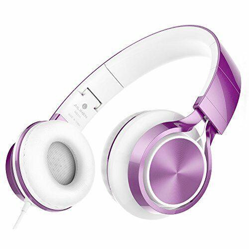 AILIHEN MS300 Headphones Over Ear Foldable 3.5 mm Wired Earphone for Smartphones