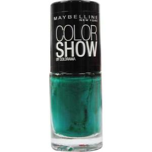 maybelline 7ml color show nail polish 268 show me the green 100