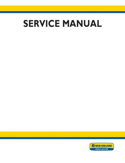 New Holland 555E 575E 655E 675E Tractor Service Repair Manual ... on