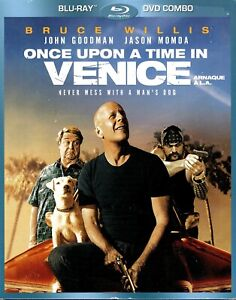 NEW-BLU-RAY-DVD-COMBO-ONCE-UPON-A-TIME-IN-VENICE-Bruce-Willis-Jason-Momoa