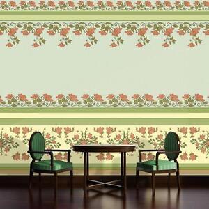 Vlies Poster Wandbild Tapeten Pflanzen Jugendstil Art Nouveau Stil