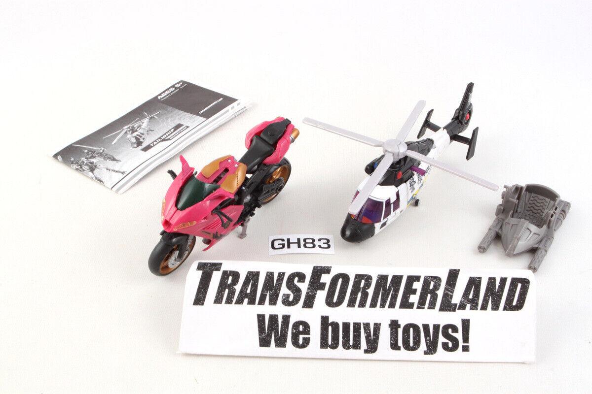 Rotorwash Rumble Target 100% Complete HFTD RTS Transformers