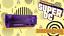 Sega-Dreamcast-Console-034-Super-DC-034-Featuring-DCHDMI-Noctua-Fan-Purple-Case thumbnail 8