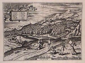 Antique map, Granata