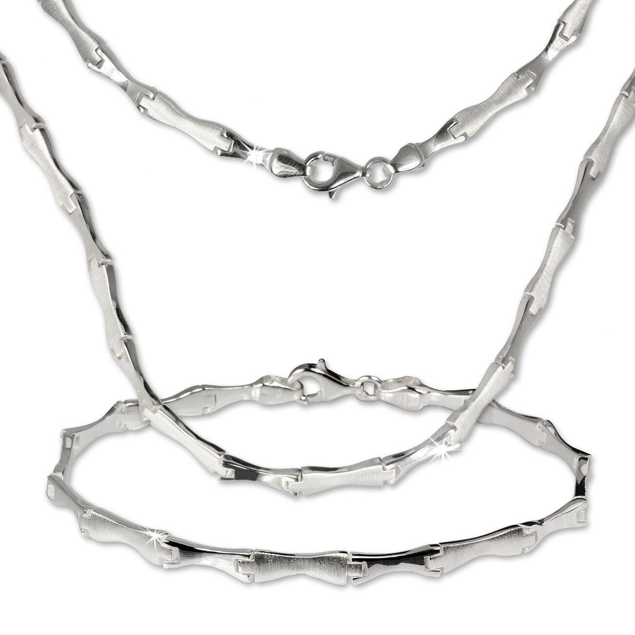 argentoDream Gioielli Set Collier & Bracciale Bracciale Bracciale Style 925 argentoO sds405 c40626