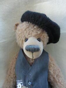 Sweet-Beret-Hat-Franzosencap-Black-For-Approx-3-7-8in-Bears