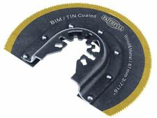Faithfull-Herramienta Multifuncional Bimetal de aserrado redondo Tin Lámina revestida: 87 mm