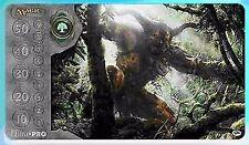 PRIMEVAL TITAN M11 MTG PLAYMAT PLAY MAT FOR CARDS ULTRA PRO GREEN MANA SYMBOL