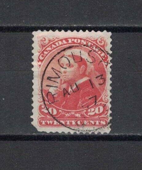 1897-08-13, #46 OBLITERATED RIMOUSKI / QUEEN VICTORIA