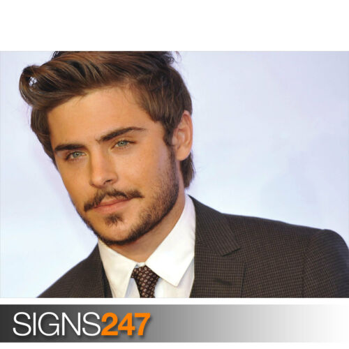 2063 ZAC EFRON Celebrity Poster Picture Poster Print Art A0 A1 A2 A3 A4