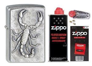 1330006-Zippo-Feuerzeug-Scorpion-mit-persoenlicher-Gravur-Basic-Package